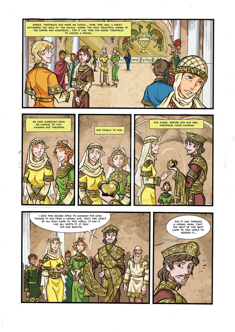 Kassiani and Theophilos page 6 by NikosBoukouvalas