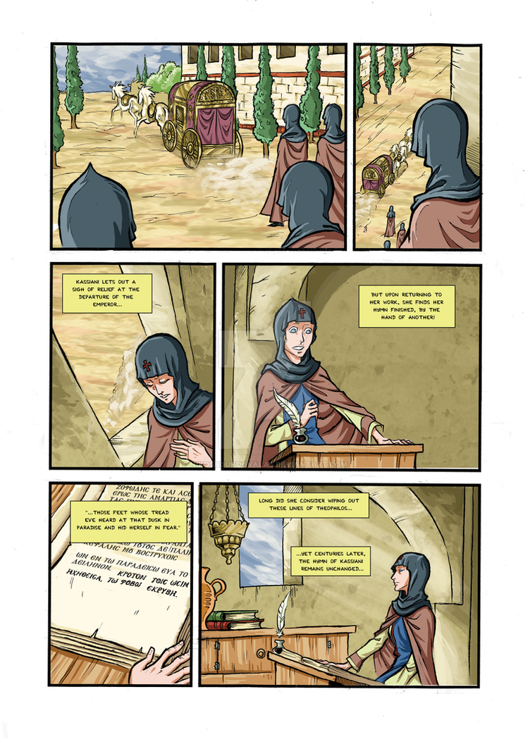 Kassiani and Theophilos page 9 END by NikosBoukouvalas