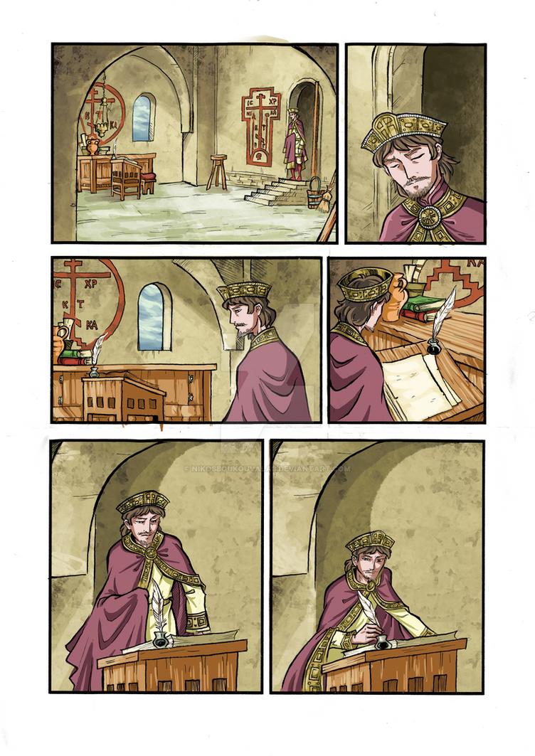 Kassiani and Theophilos page 8 by NikosBoukouvalas