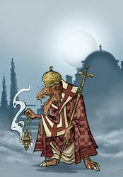 Skaven Priest - Commission for JurassicPark89 by NikosBoukouvalas