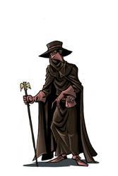 Plague Doctor - Commission for Zalezsky by NikosBoukouvalas