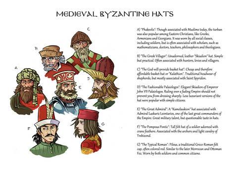 Byzantine Hats