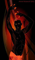Dancing flame by naitiron