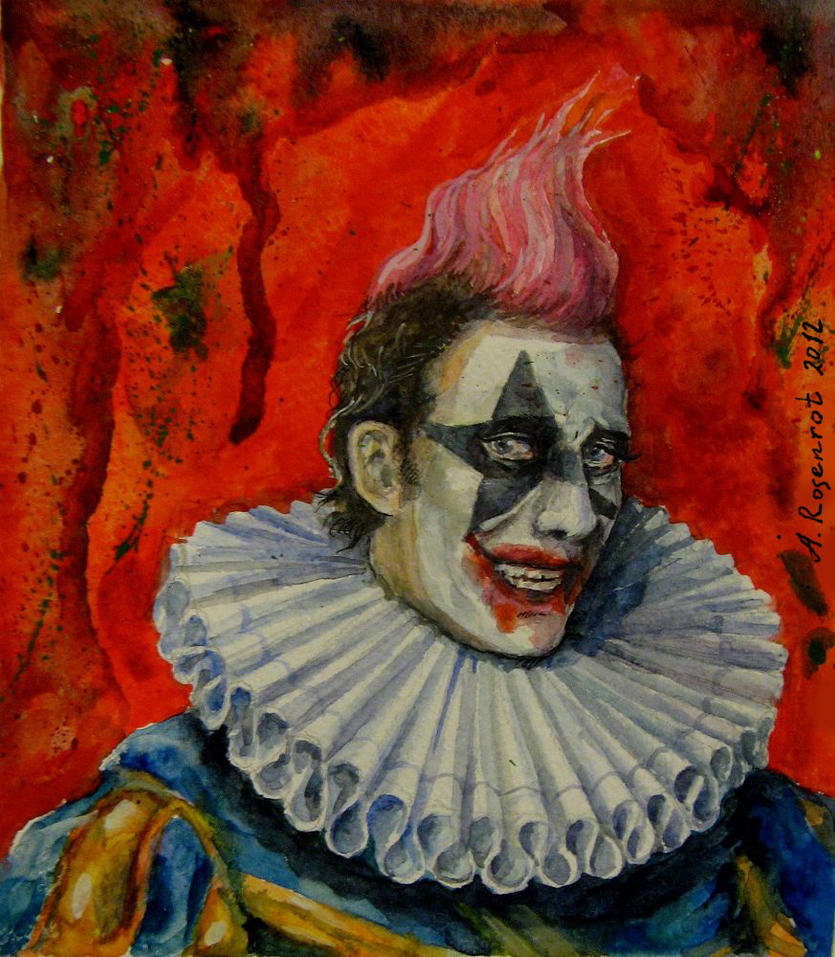 The clown by naitiron