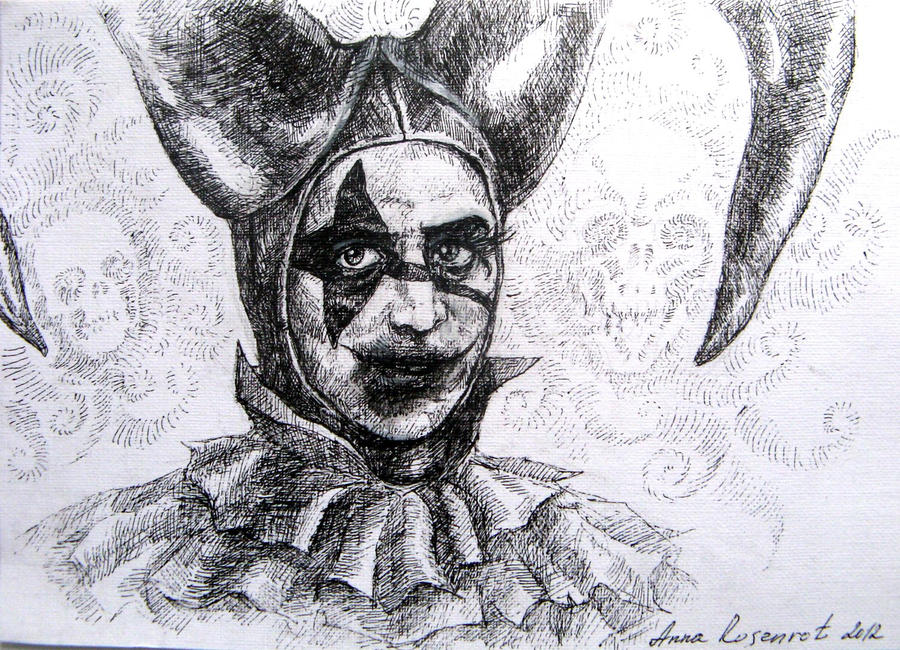 Sad jester by naitiron