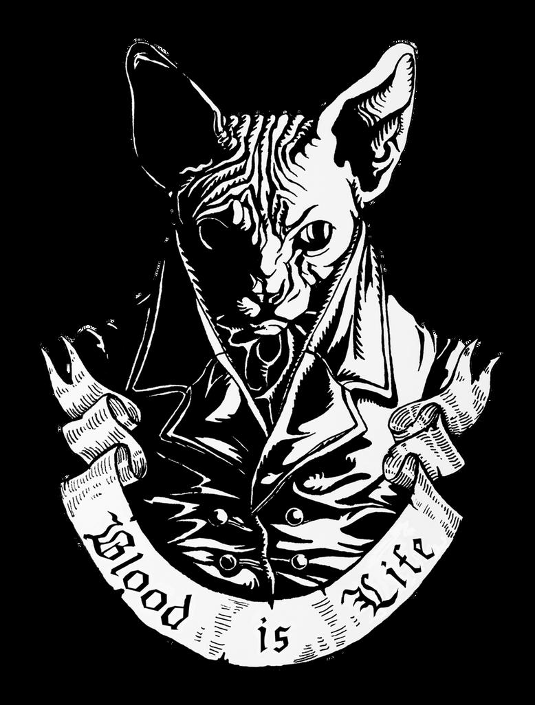 Bad cat by naitiron