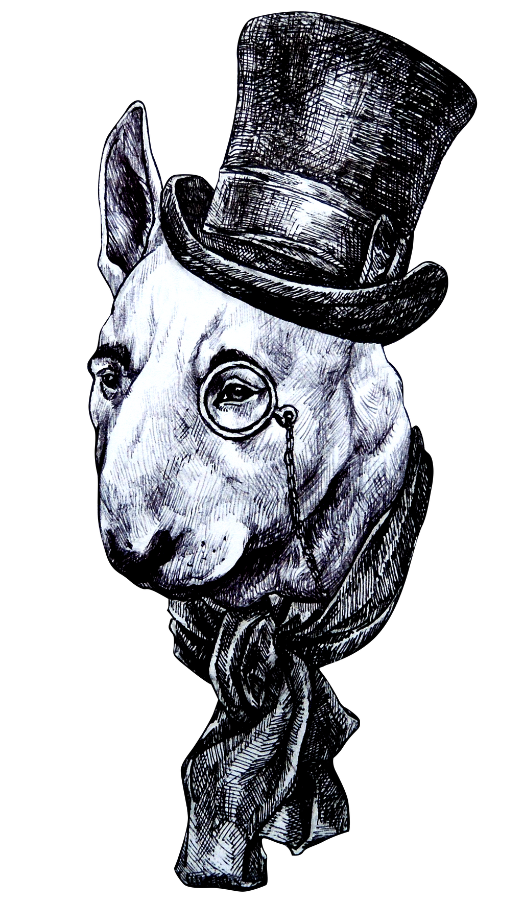 Sir Bullterrier by naitiron