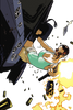 Lara Croft Car Flip by Spitfire3