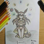 Pokemon Gijinka: Eevee, the summoner