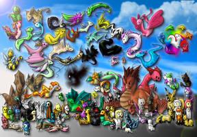 101 Deviations by Pokemontrainergigi