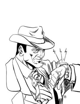 Dick Tracy-ink