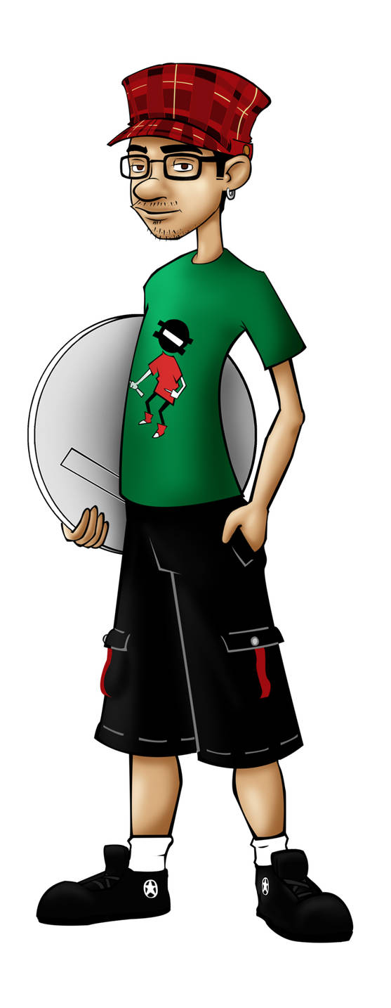 Self Portrait Cartoon Style
