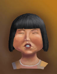 Miss Swan Caricature from MadTV