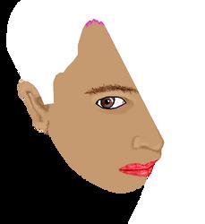 WIP - Self Portrait by xappletinix
