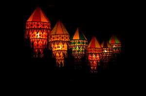 Festival Lanterns by Tardigrade100