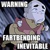 WARNING: Fartbending Inevitable by SakuraSagara910