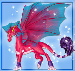 contest dragonna by Dark-Luna-chaotik