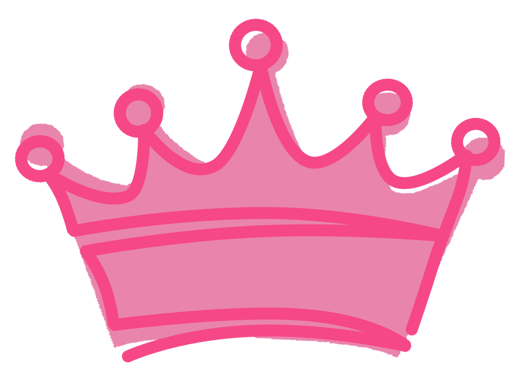 pink crown by gunsntatas on deviantart rh deviantart com pink princess crown clipart Gold Crown Clip Art