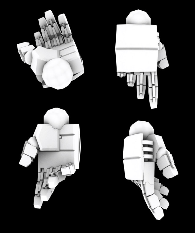 Transformer or Mecha Hands 01 by batchix