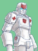 Cybertron Ratchet by batchix