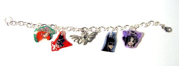 Batman Charms by batchix