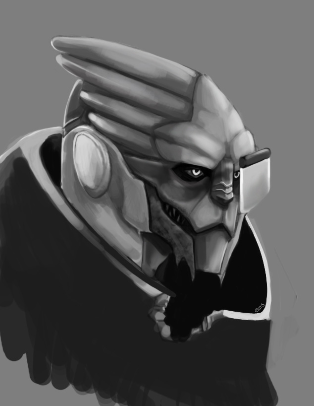 Garrus by batchix