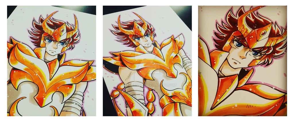 Phoenix manga version fanart by gravetown