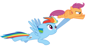 Scootaloo Can (Almost) Fly!