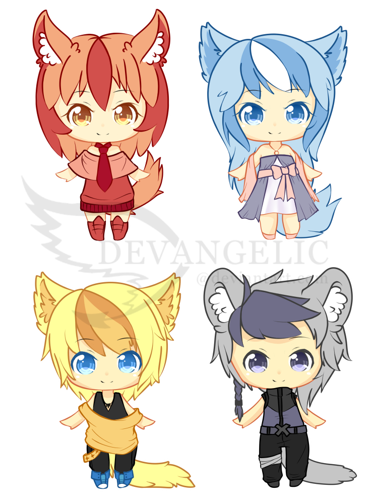 Adopts Set 11 [1/4 open] by Devangelic