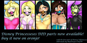 Disney Princess in Distress Part 1 AVAILABLE!