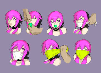 Gag sequence commission 2 by GreenLeona