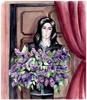 Bouquet of lilacs by Noldo-Painter