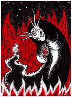 Fiery Spirit by Noldo-Painter