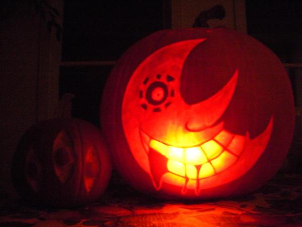 soul eater pumpkins by neonxpanda on deviantart