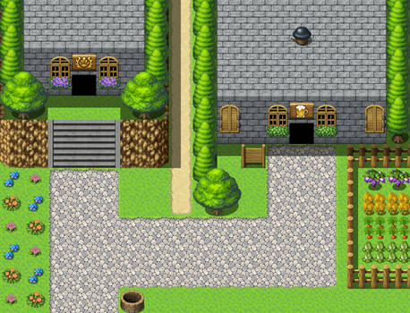 RPG Maker Practice Map X6