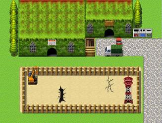 RPG Maker Practice Map X8