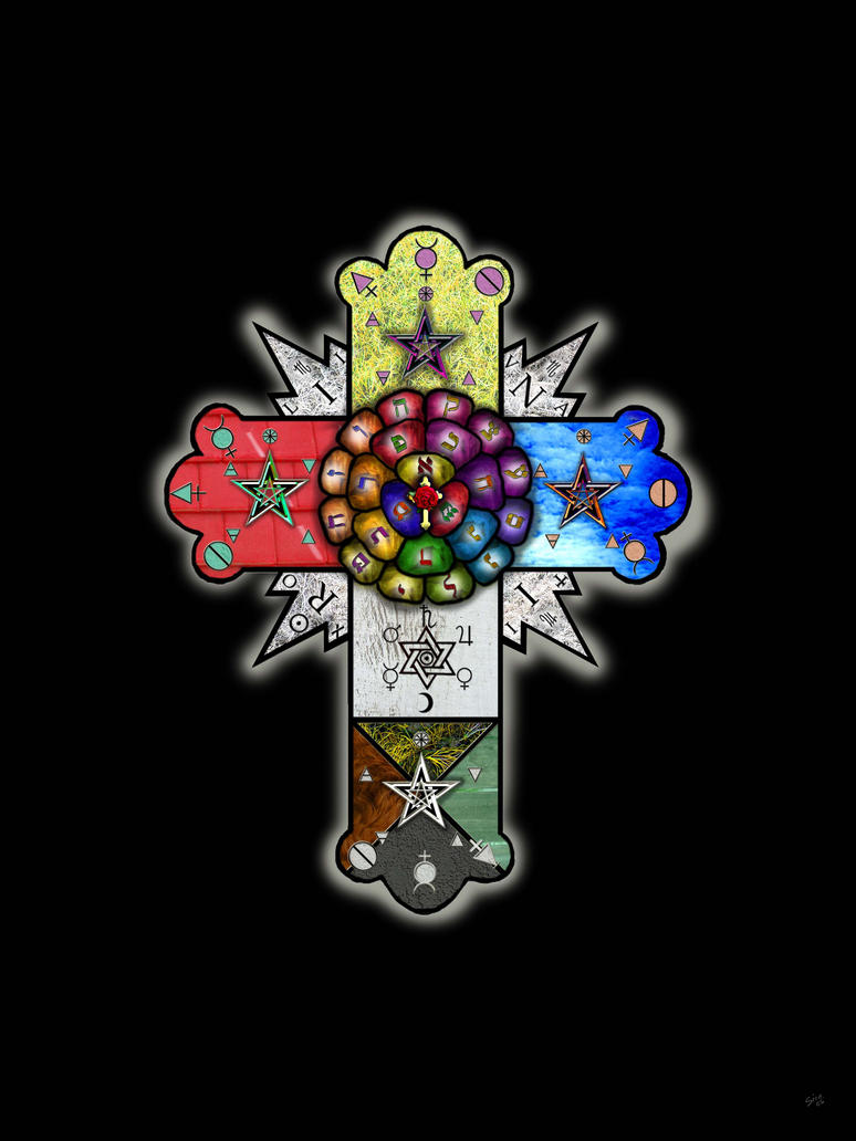 ROSICRUCIANISMO The_Rose_Cross_by_fightingdan