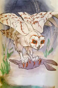 Inktober Day2 OWL
