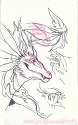 Tiamat Sketches