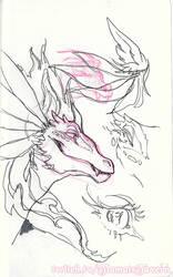 Tiamat Sketches