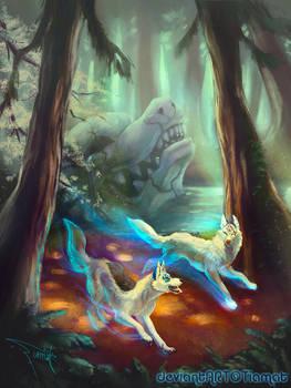 Ghosts of Redwood Ravine