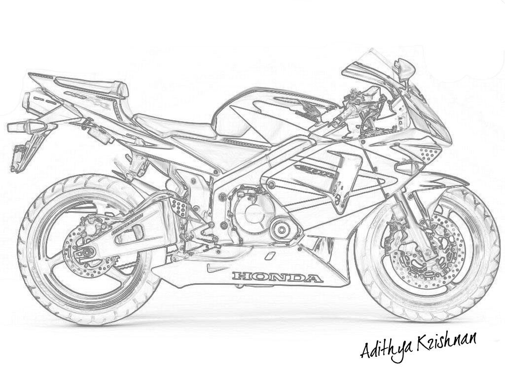 Honda CBR by adithya on DeviantArt