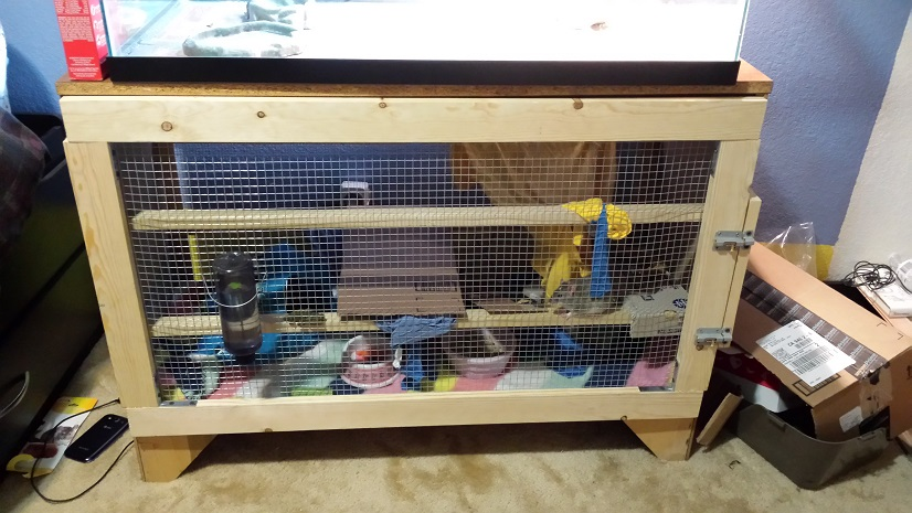 My new pet rats rats hamster hideout forum for Guinea pig dresser cage