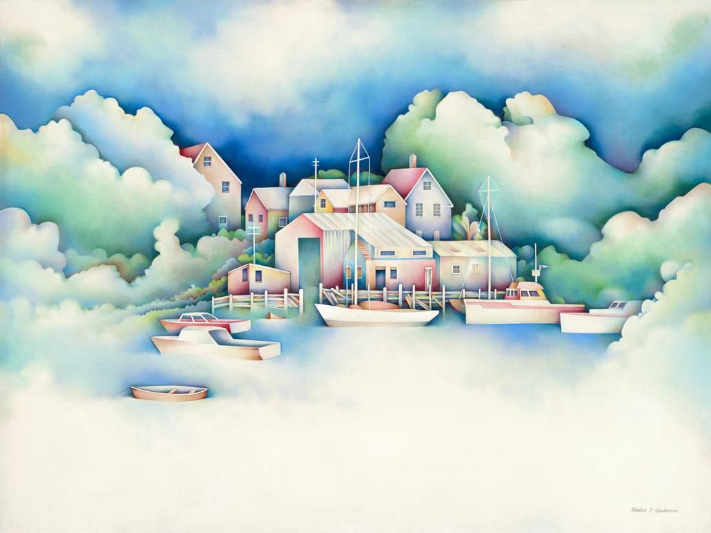 Calm Harbor 2 by RicArtt