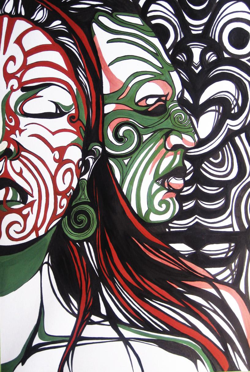 Traditional Maori Art: KrisOdin And Maori By VeraVoloshchuk On DeviantArt