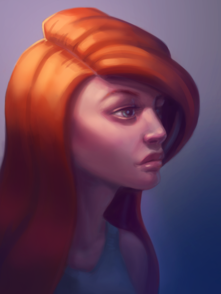 Redhead by demeter-luna