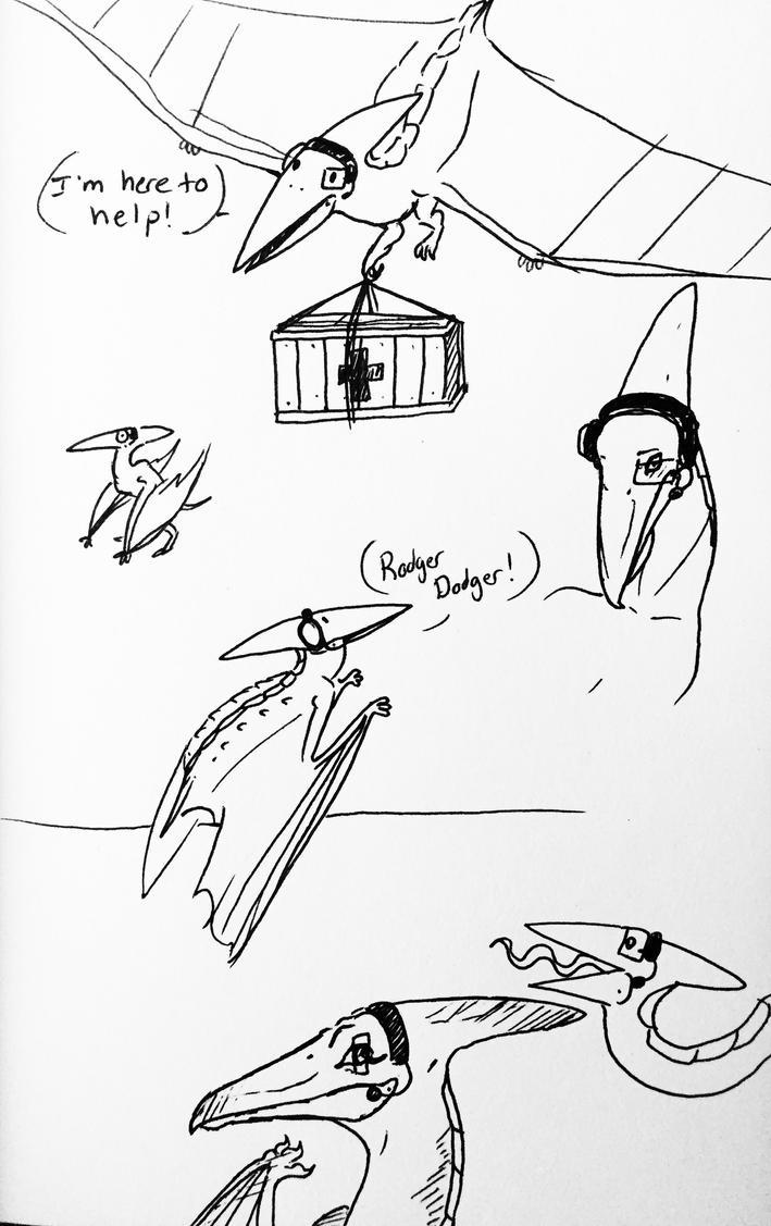 More doodles by WinterHyena