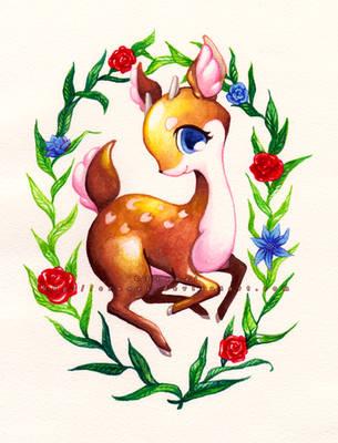 Little Baby Deer by Erunei