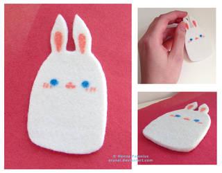 Felt Bunny 03 by Erunei
