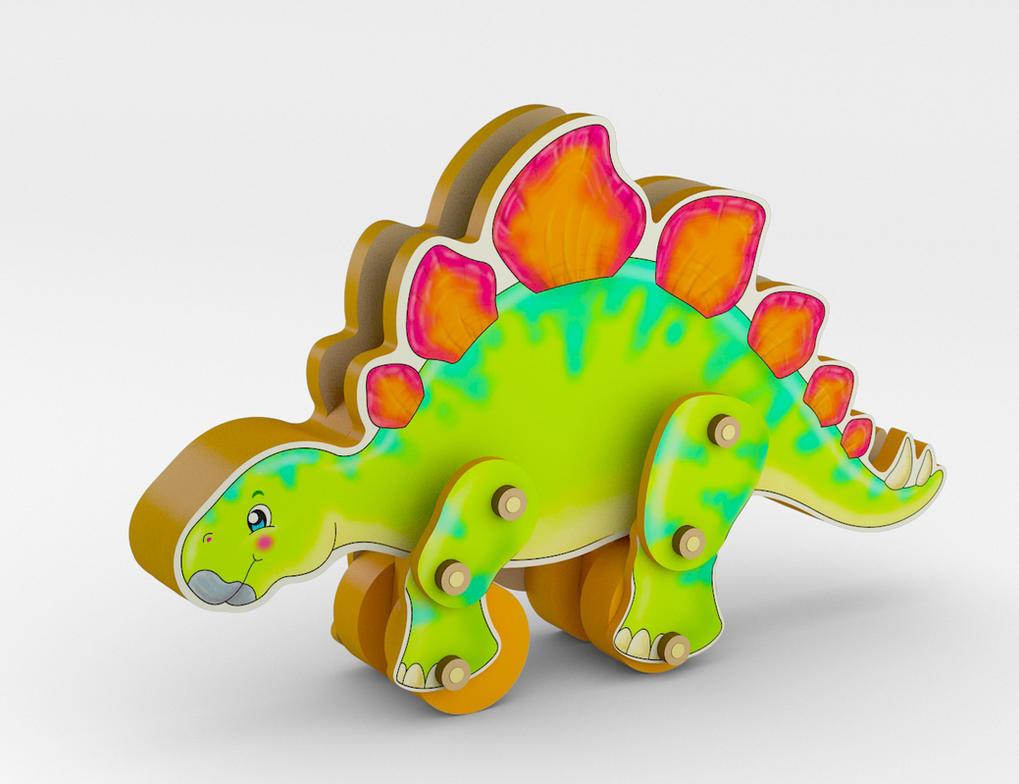 Dinosaurio - arrastre by fabiofenix88
